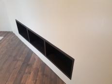 inbyggd tv-bänk