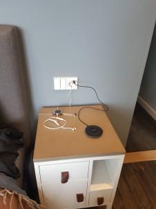 USB-uttag för laddning